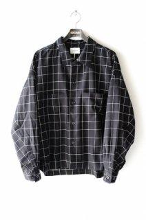 superNova.(20SS)/スーパーノヴァ/Big shirt jacket-window pane