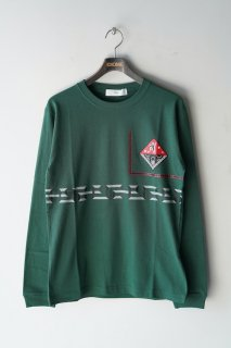 TOGA VIRILIS(21SS)/トーガビリリース/Print T-shirt long sleeve green<img class='new_mark_img2' src='https://img.shop-pro.jp/img/new/icons14.gif' style='border:none;display:inline;margin:0px;padding:0px;width:auto;' />