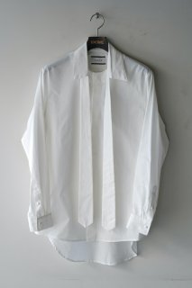 TAAKK(21SS)/ターク/TIE SHIRT wh<img class='new_mark_img2' src='https://img.shop-pro.jp/img/new/icons14.gif' style='border:none;display:inline;margin:0px;padding:0px;width:auto;' />
