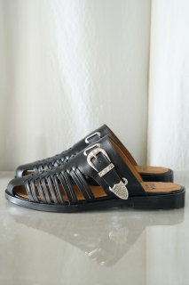 TOGA VIRILIS SHOE(21SS)/トーガビリリース/MESH LEATHER METAL SANDALS<img class='new_mark_img2' src='https://img.shop-pro.jp/img/new/icons14.gif' style='border:none;display:inline;margin:0px;padding:0px;width:auto;' />