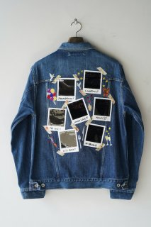 doublet(21SS)/ダブレット/MEMORIAL POLAROID DENIM JACKET<img class='new_mark_img2' src='https://img.shop-pro.jp/img/new/icons14.gif' style='border:none;display:inline;margin:0px;padding:0px;width:auto;' />
