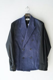 Stripe Linen Jacket<img class='new_mark_img2' src='https://img.shop-pro.jp/img/new/icons14.gif' style='border:none;display:inline;margin:0px;padding:0px;width:auto;' />