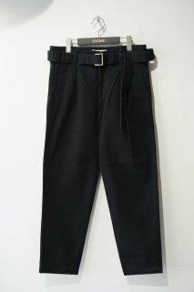 CULLNI(21SS)/クルニ/belted denim trousers<img class='new_mark_img2' src='https://img.shop-pro.jp/img/new/icons14.gif' style='border:none;display:inline;margin:0px;padding:0px;width:auto;' />