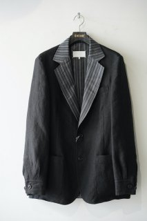 Striped Collar Blazer<img class='new_mark_img2' src='https://img.shop-pro.jp/img/new/icons14.gif' style='border:none;display:inline;margin:0px;padding:0px;width:auto;' />