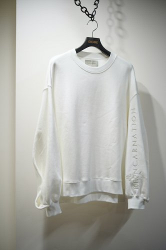 Embroidery Sweat Pullover wh<img class='new_mark_img2' src='https://img.shop-pro.jp/img/new/icons14.gif' style='border:none;display:inline;margin:0px;padding:0px;width:auto;' />