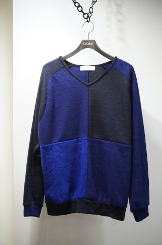 Shaggy jersey pullover blue<img class='new_mark_img2' src='https://img.shop-pro.jp/img/new/icons14.gif' style='border:none;display:inline;margin:0px;padding:0px;width:auto;' />