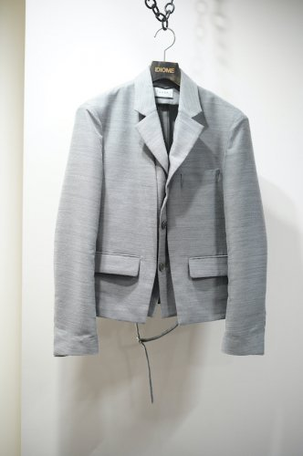 FEATHER WEIGHT JACKET gray<img class='new_mark_img2' src='https://img.shop-pro.jp/img/new/icons14.gif' style='border:none;display:inline;margin:0px;padding:0px;width:auto;' />