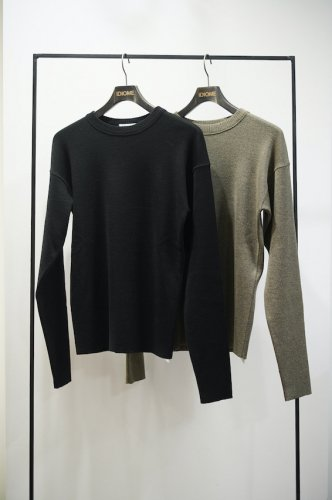 CREW NECK RIB SWEATER<img class='new_mark_img2' src='https://img.shop-pro.jp/img/new/icons14.gif' style='border:none;display:inline;margin:0px;padding:0px;width:auto;' />