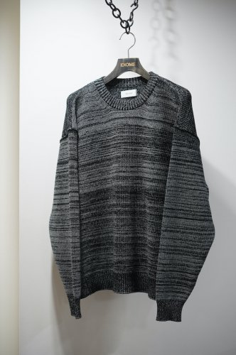 Giza Cotton Crewneck Knit bk<img class='new_mark_img2' src='https://img.shop-pro.jp/img/new/icons14.gif' style='border:none;display:inline;margin:0px;padding:0px;width:auto;' />