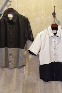 MIDIUMISOLID/ミディウミソリッド/1-130039 顔料プレスシャツ