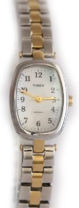 Timex(タイメックス)Womens Classics MOP Dial Brass Case Two Tone Expansion Band,,,