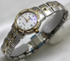 Raymond Weil(レイモンドヴェイル)Watches  Parcifal Steel & 18k Gold MOP Dial Diamond Hour Markers …