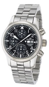 Fortis(フォーティス)Men's 657.10.11 M B42 Flieger Swiss Automatic Steel Chronograph Alarm Date Divi