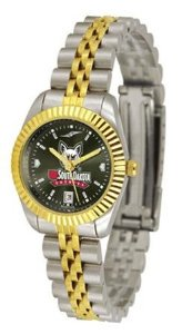 SunTime(サンタイム)South Dakota Coyotes NCAA Womens Anochrome Gold