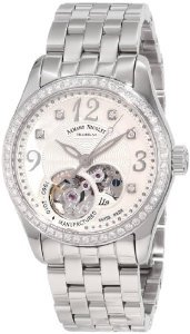Armand Nicolet(アルマンニコレ)Women's 9653D-AN-M9150 LL9 Limited Edition Stainless Steel Classic Au