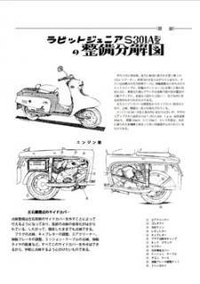 ラビット S301A分解整備図(PDF)