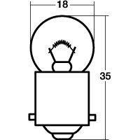 スタンレー ウインカー球 A4117 6V10W