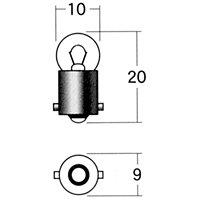 スタンレー メーターポジション球 A61A 6V1.7W
