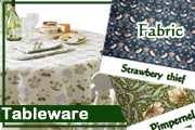 TABLEWARE「Abbeyhorn(スプーンetc)、テーブルクロス、WILLIAM MORRIS - Fabric(生地) etc」