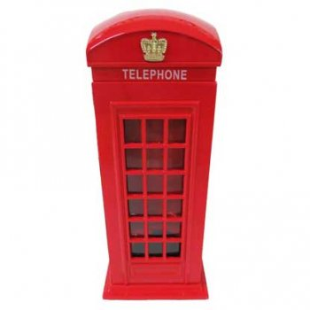 Money Box 貯金箱 Metal Telephone Box TBMB2
