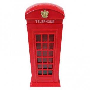 Money Box 貯金箱 Metal Telephone Box TBMB2