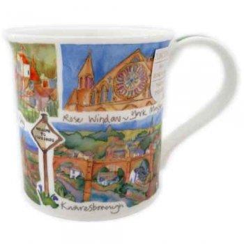 Dunoon マグカップ (Bute) Yorkshire DNYK1 [0.3L]