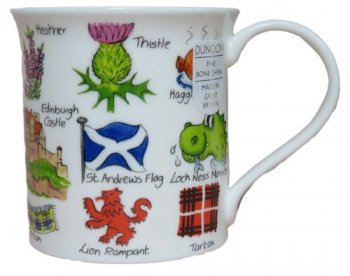 Dunoon マグカップ (Bute) Scotland Flag DNSS1 [0.3L]