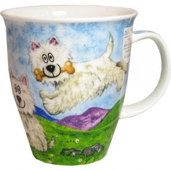 Dunoon マグカップ (Nevis) Highland Animals Westie DNWE1 [0.48L]