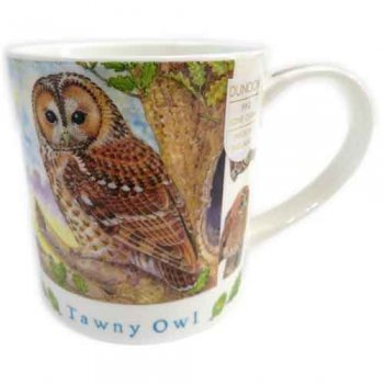 Dunoon マグカップ (Orkney) Tawny Owl DNTO1 [0.35L]