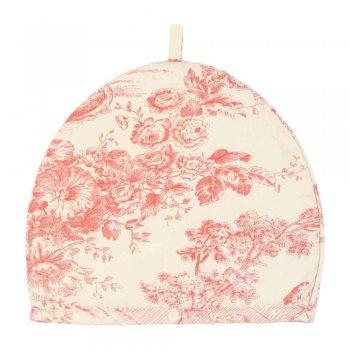 トワル・ド・ジュイ ジュイの更紗 西洋更紗 ミニティーコジー Pink Toile MTC58