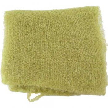 Cape Mohair ケープモヘヤ Superfine Mohair Scarf Chartreuse SFMS002