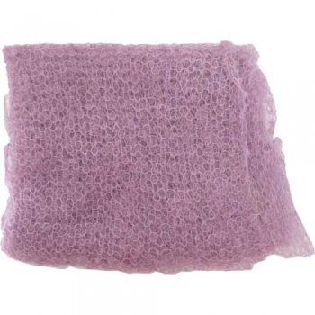 Cape Mohair ケープモヘヤ Superfine Mohair Scarf Pale Mauve SFMS006