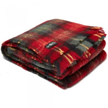Cape Mohair ケープモヘヤ Knee Rug Cherry Plaid KNE2030