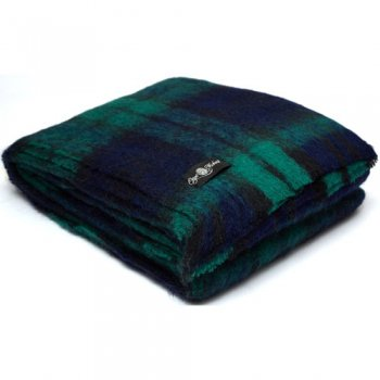 Cape Mohair ケープモヘヤ Travel Rug Black Watch TRA2007
