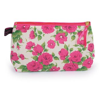 LIBERTY Tana Lawn Cotton Cosmetic Bag<br>Carline ACCB01【約 横21cmxたて14cm】