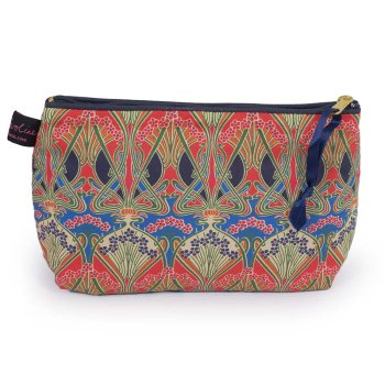 LIBERTY Tana Lawn Cotton Cosmetic Bag<br>Ianthe ACCB07【約 横21cmxたて14cm】
