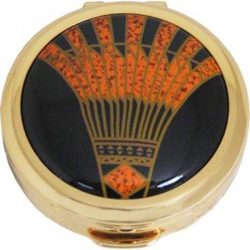 ストラトン ピルボックス ピルケース Art Deco STPB1141 [直径4cm、厚さ1.3cm]
