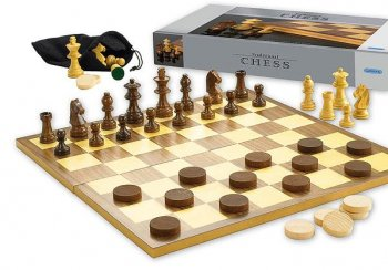 Gibsons Games Chess & Draughts Set G740