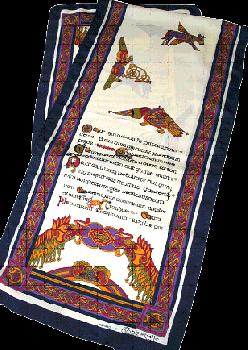 Celtic Scarf ( ケルティックスカーフ ) CS004  [ 約140×30cm ]