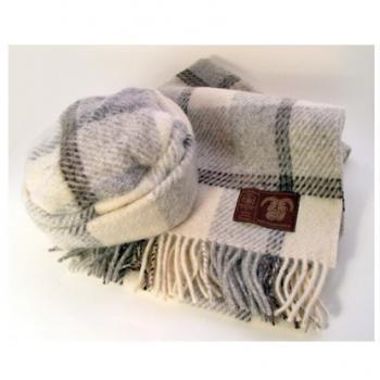 Jacob ジェイコブ・ウール 女性用帽子とマフラーセット  JBH24/1+JWS24/1