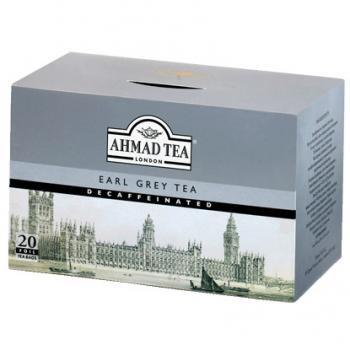 AHMAD TEA アーマッドティー DECAFFEINATED デカフェ Teabag アールグレイ 20袋入り EGD20
