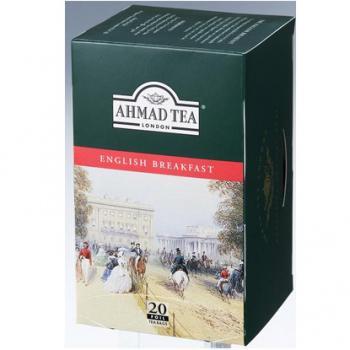 AHMAD TEA アーマッドティー イングリッシュブレックファースト 20袋入り EB20