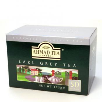 AHMAD TEA  ラウンド型 ティーバッグ アールグレイ EG50
