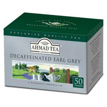 AHMAD TEA  ラウンド型 ティーバッグ Earl Grey EGD50
