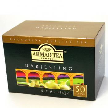 AHMAD TEA ラウンド型 ティーバッグ ダージリン DJ50