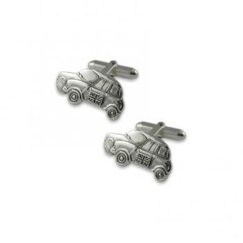 Yeoman ヨーマン社 カフス Silver Plated Mini Car cufflinks Y3415SP 英国製・イギリス製