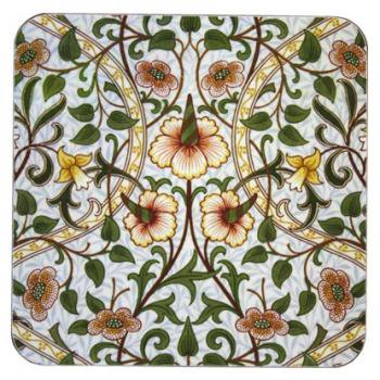CASTLE MELAMINE Pot Stand MorrisDesign at Oxford Time Daffodill PSCM001