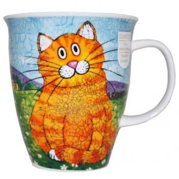 Dunoon マグカップ (Nevis) Happy Cats Ginger DNHC2 [0.48L]