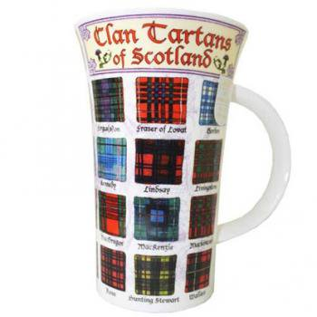 Dunoon マグカップ Clans Tartans of Scotland DNL27