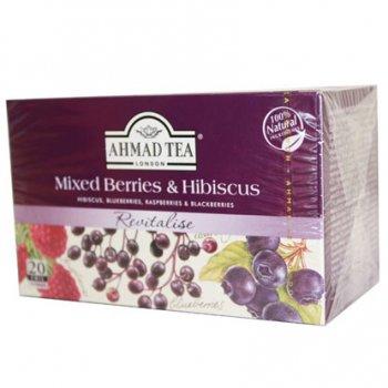 AHMAD TEA アーマッドティー ティーバッグ ハーバル&フルーツティー ミックス ベリー&ハイビスカス MBH20